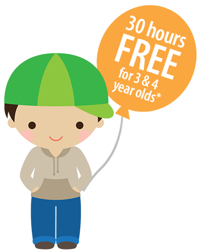 30 Hours Free For 3 and 4 Year Olds *